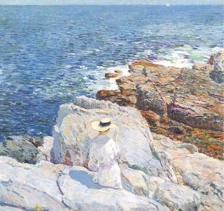 childe hassam The South Ledges Appledore